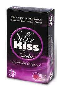 Silky Kiss Egzotik Kokulu Prezervatif
