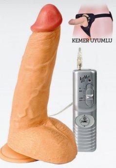 Mighty Muscle 23 Cm Realistik Penis Vibratör
