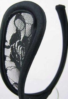 Dantelli Siyah G String