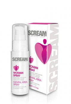 Scream Women Genital Area Spray