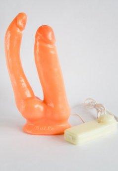 Anal Vajinal Yumuşak Çatal Realistik Penis