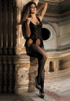 Erotik Özel Bölge Açık Vücut Çorabı
