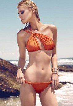 Merry See Turuncu Özel Tasarım Bikini