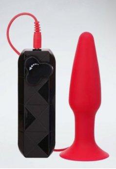 Thriller Ass Titreşimli Kırmızı Anal Tıkaç