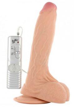 Morpheus Titreşimli Realistik 19 Cm Penis