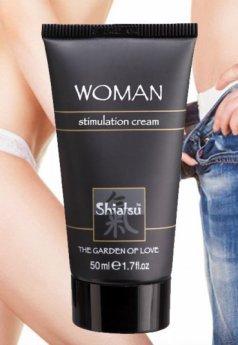 Shiatsu Kadınlara Özel Uyarıcı Krem