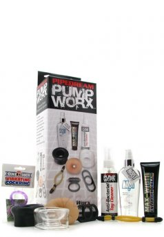Pump Worx Accessory Penis Geliştirme Set