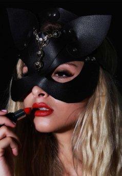 nokta-shop Fantazi Deri Maske