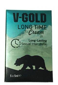V Gold Long Time Krem 5 ml Şase