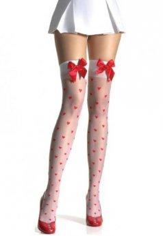 Kalpli Diz Üstü Çorap