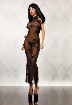 Tül Gecelik Fiyonklu Tasarım Fantazi Giyim