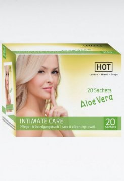 HOT Intimate Care Nemlendirici Temizleme Mendili 20 Adet