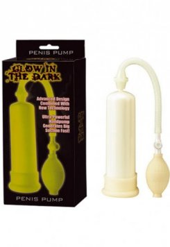 Glow in the dark Penis Pompası