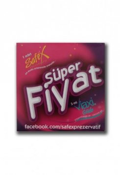 1x Safex Prezervatif-1x Viaxi Kayganlaştırıcı