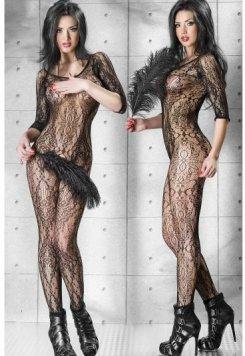 Fantazi Vücut Çorabı Bölgesi Açık