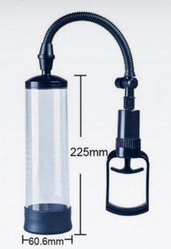 Maxman Penis Geliştirici Vakum Pompa Siyah