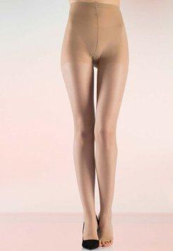 Külotlu Çorap Şeffaf Burnu Açık Sahra