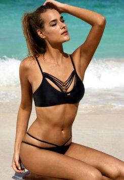 Siyah Şık Tasarım Bikini