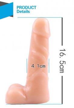 T Skin Spread Me Gerçekçi Dildo 16.5 Cm