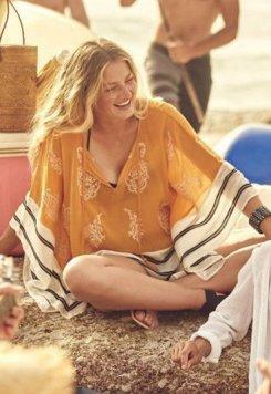Şık Tasarım Plaj Elbisesi