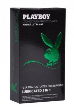 Playboy 3in1 12 li Geciktiricili Ultra Haz