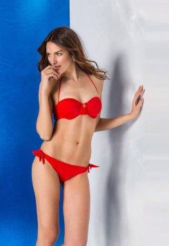 Seksi Kırmızı Renk Bikini Mara