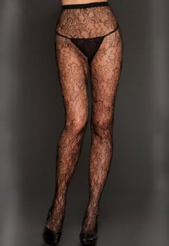Desenli Seksi Külotlu Çorap