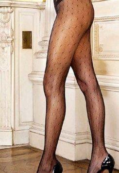 Seksi Siyah İnce Külotlu Çorap
