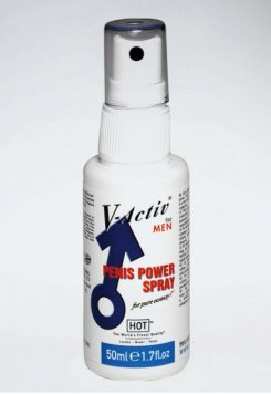 V Activ Men Penis Power Spray