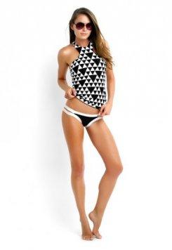 Şık Tasarımlı Tankini Bikini