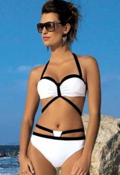 Beyaz 2017 Özel Tasarım Bikini