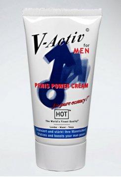 Hot V Aktiv Penis Geliştirici Bakım Kremi