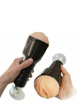 Vantuzlu Fener Tipi Suni Vajina Mastürbatör