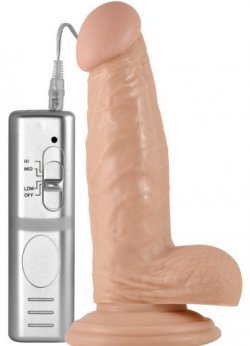 Extreme 3 Hız gerçekçi 7 inç Titreşimli Penis