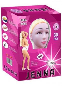Jenna Realistik Şişme Bebek
