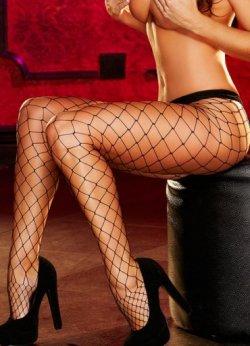 Sexy Geniş Fileli Çorap