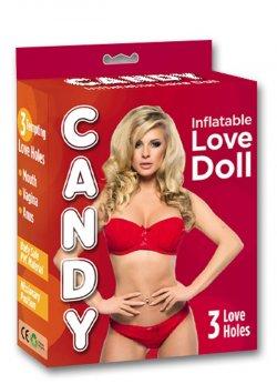 Candy Love Doll 3 İşlevli Şişme Bebek