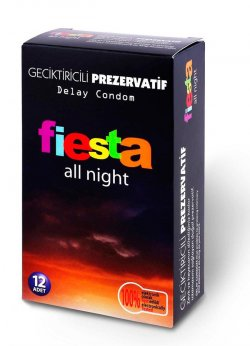 Fiesta All Night Prezervatif