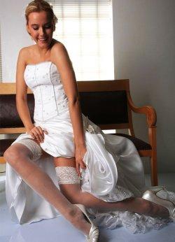 Dantelli Slikonsuz Jartiyer Çorabı Beyaz