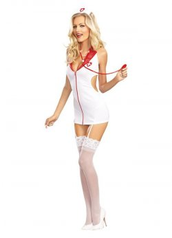 Fantazi Sexy Hemşire Kostümü