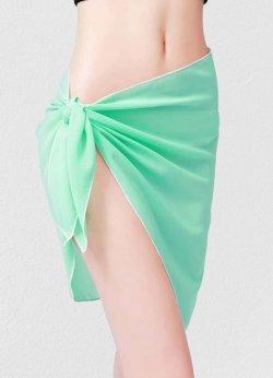 Mint Yeşili Tül Pareo