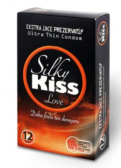 Silky Kiss Love Ekstra İnce Prezervatif
