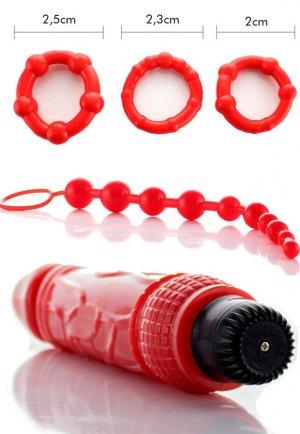 Anal İlişki İçin Hazırlık Vibratör Seti