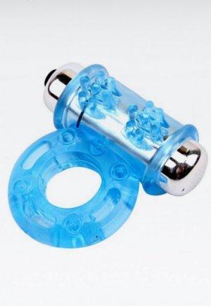 Get Lock Titreşimli Mavi Penis Halkası