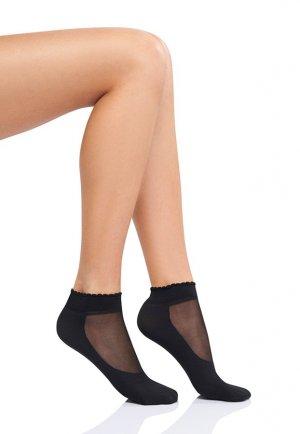 Soket Çorap Tabanlı Siyah