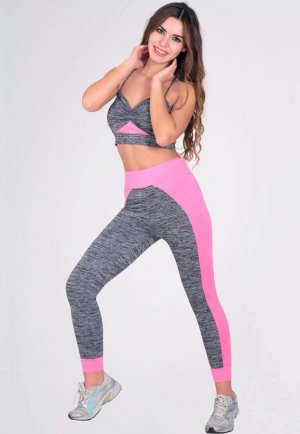 Fonksiyonel Fitness 2li Set Tayt