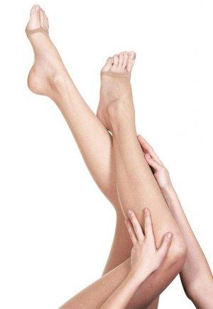 Külotlu Çorap Şeffaf Burnu Açık Ten Rengi