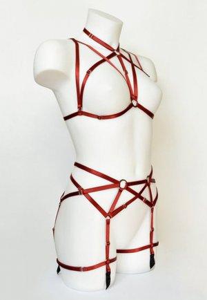 Seksi İç Çamaşırı Bdsm Harness Takım