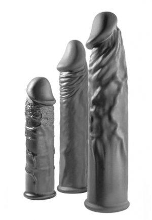 Extender 3 lü Silikon Penis Kılıfı Seti