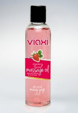 Viaxi Masaj Yağı Çilek Aromalı 177 ml